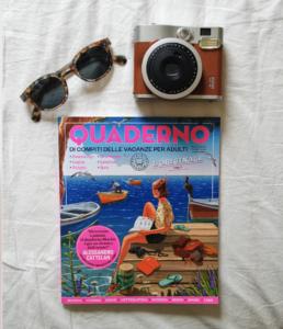 Estate - quaderno libri vacanze adulti